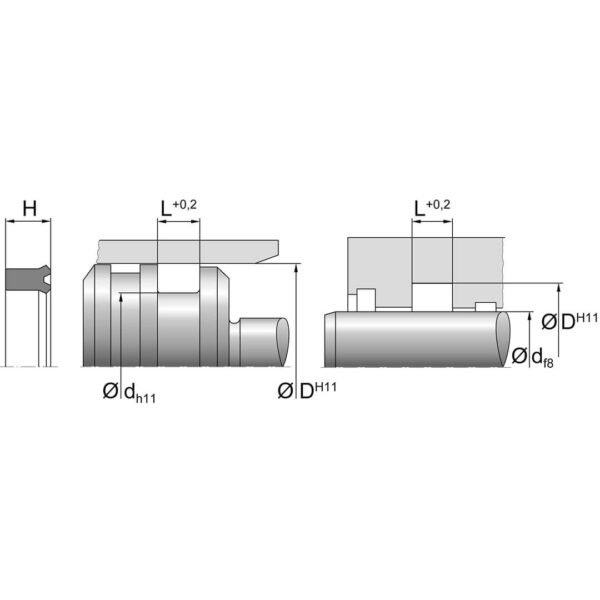 Stangtetning SN 36 Dimensjoner TTP SEALS